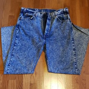 Levi Acid Wash 505 Jeans MADE IN USA